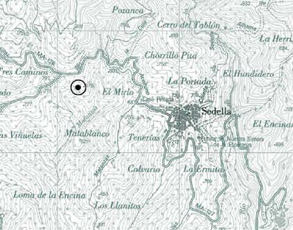Sedella Location